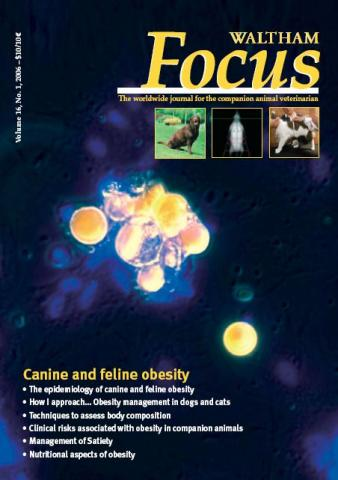 Canine and Feline Obesity - Veterinary Focus - Vol. 16(1) - Mar. 2006