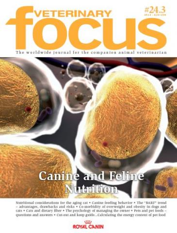 Canine and Feline Nutrition - Veterinary Focus - Vol. 24(3) - Nov. 2014