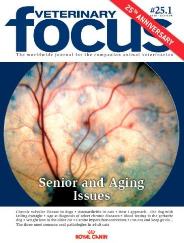 Senior and Aging Issues - Veterinary Focus - Vol. 25(1) - Mar. 2015