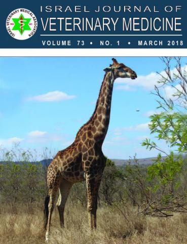 Israel Journal of Veterinary Medicine - Vol. 73(1) - Mar. 2018
