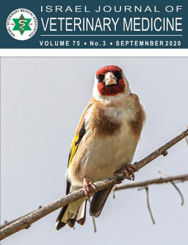 Israel Journal of Veterinary Medicine - Vol. 75(3), Sep. 2020