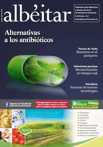 Alternativas a los antibióticos - Albéitar - N°209, Oct. 2017