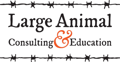 Large Animal Consulting Education Online-CE logo