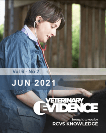 Veterinary Evidence 6.2 Cover