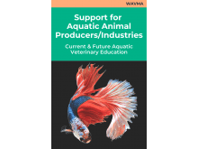 Support for Aquatic Animal Producers/Industries: Current and Future Aquatic Veterinary Education
